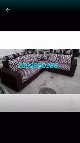 Official look and quality  brand new sofa with warranty