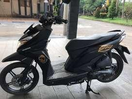 Honda Beat Street Thn 2019 CBS ESP Mulus Hitam Doff