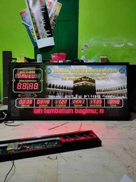 jam masjid bergaransi resmi hingga 1 tahun