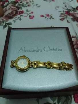 Jual jam tangan wanita merk Alexandre Christie