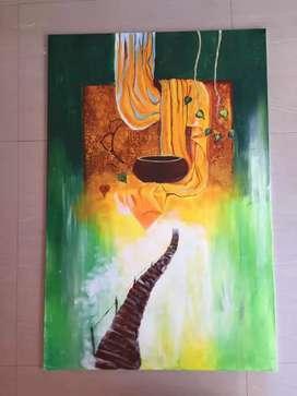 Buddha Spiritual Acrylic painting