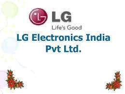 HIRING IN LG ELECTRONIC INDIA PVT LTD LIMITED VACANSY APPLY FAST COMP