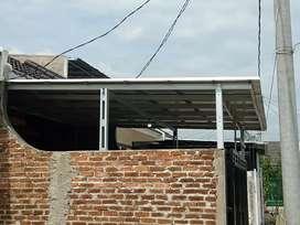 Kanopi alderon rangka besi hollow galvanis 0225
