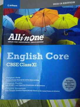 All in One English Core Class 11