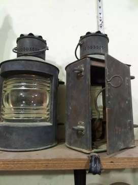 Classic vintage very old ship lamps electronic for sale