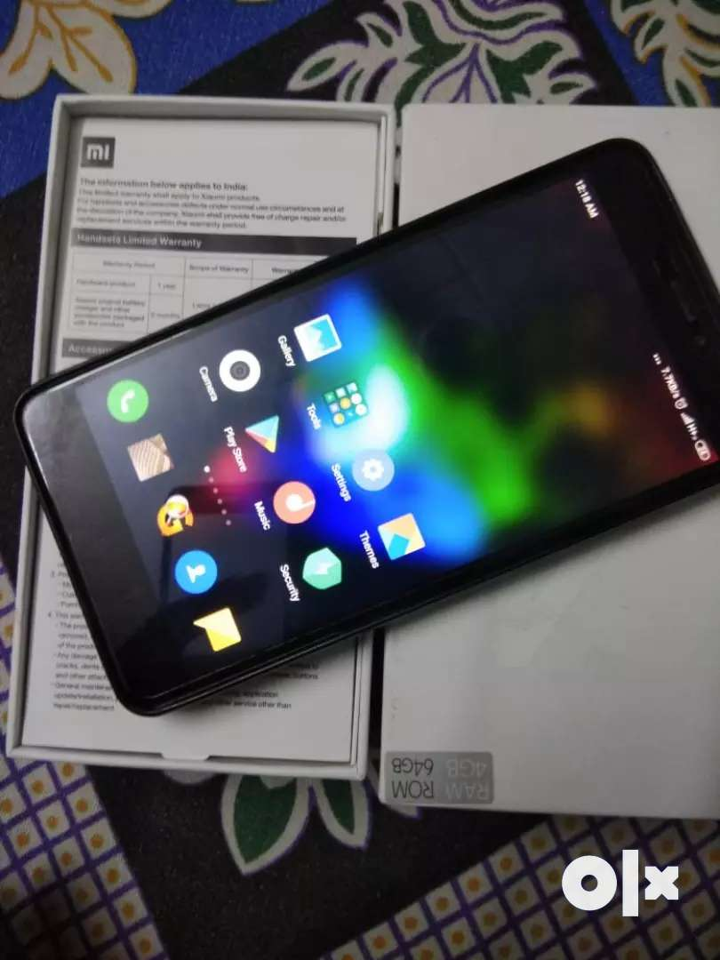 Mi Note 4 black in colour 32 GB 0