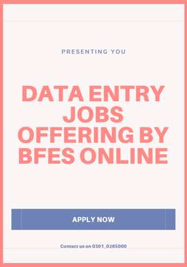 Work with us for data entry job and earn cash easily from your home