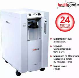 Healthgenie Oxygen Concentrator HG 301 Oxygen Outflow 3 Litres Minute