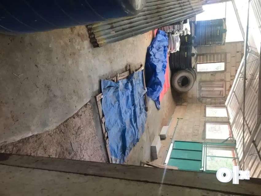 Plot and shead for rent near balaramapuram