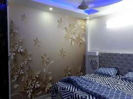 Fully Furnished 3 bhk with lift & car parking for sale in uttam nagar