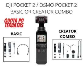 DJI POCKET 2 / OSMO POCKET 2 BASIC & CREATOR COMBO - BASIC