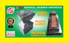 BNDNG Plakat Prasasti Peresmian Marmer Granit Keramik Batu Nisan Makam
