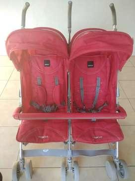 Stroller babyelle twins trevi