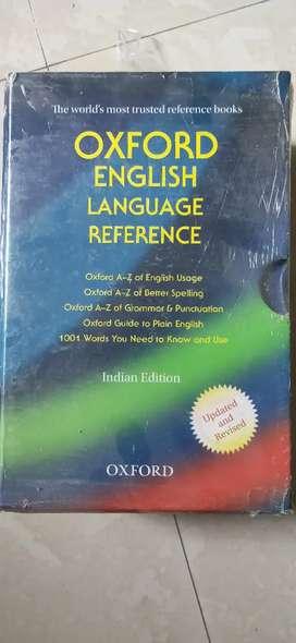 Oxford English Language Refrence books