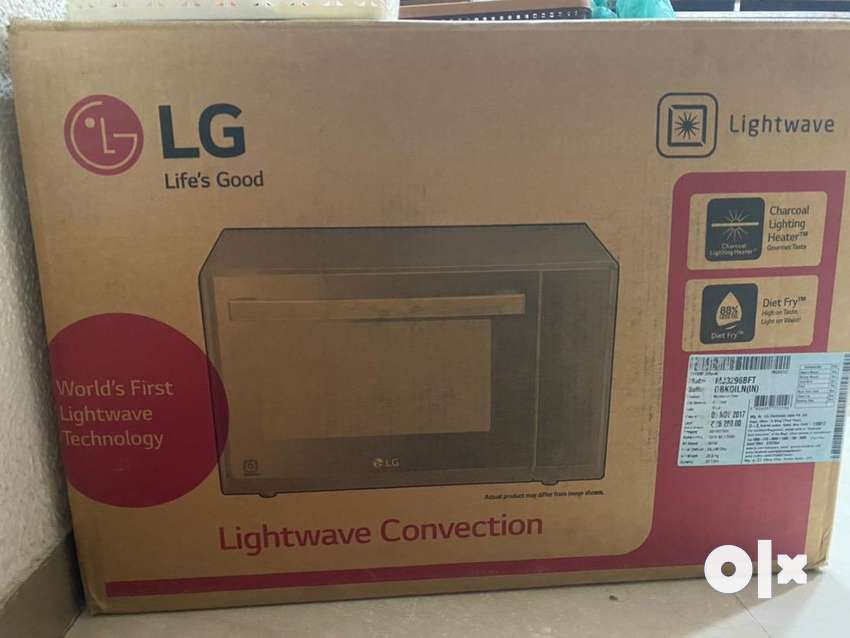 LG MICROWAVE OVEN LIGHTWAVE CONVECTION