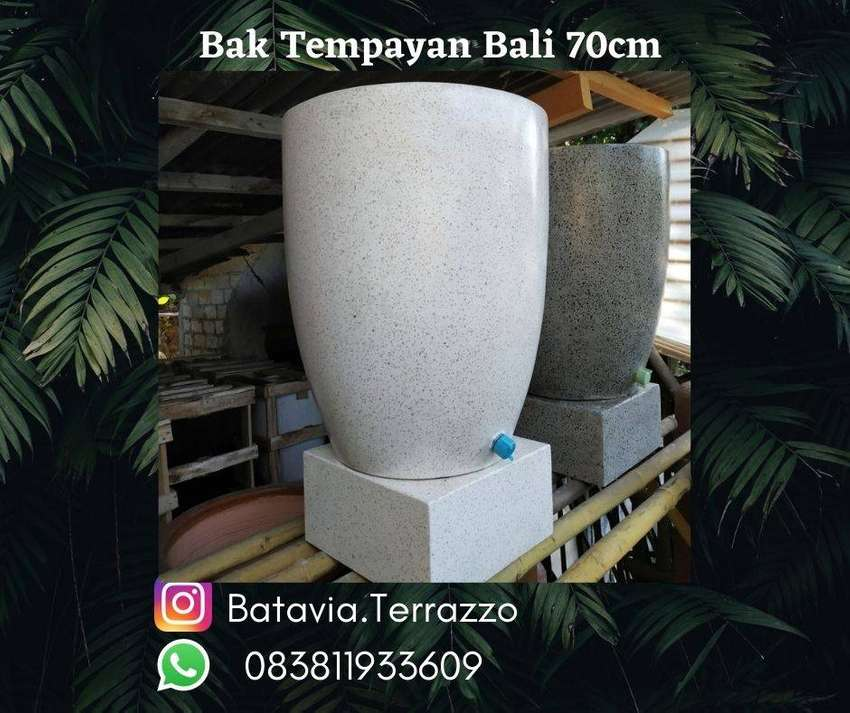 Bak Mandi Bali Tempayan Marmer