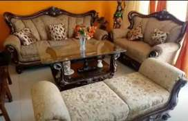Sofa set dining table bad washing machine only 4 month used