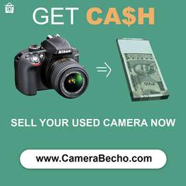Sell Your Used Camera & Get Instant Cash.  visit - CameraBecho . com