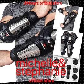 M&S MEN'S STUFF 05B-Black Motorcycle Elbow Protector Motocross Protect