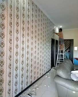 Keindahaan wallpaper dinding minimalis modern terbaru