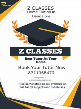 Required Home tutor/Private Tutor only in Bangalore