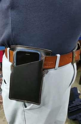 Mobile lather gun cover