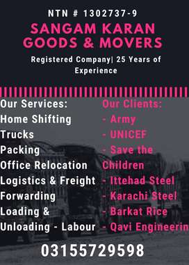 Sangam Karwan Movers and Goods - Most Relaible Home Packing Moving