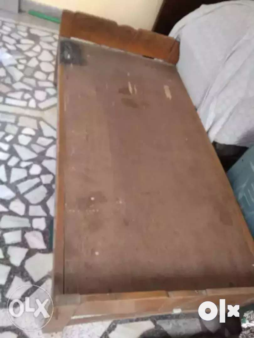 Single Bed for Sale. Sessam wood used 0