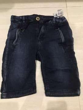 Celana zara boys kids 3/4 size 6tahun