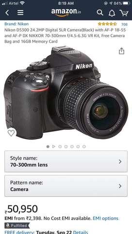 Nikon d5300 18/55 aur 70/300
