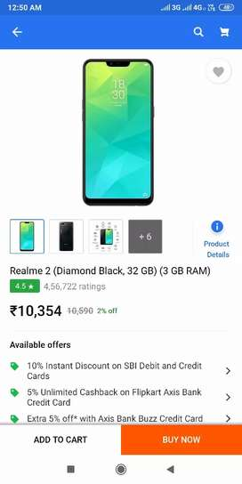 Realme 2 3/32 Gb black colour