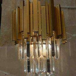 lampu dinding kristal chandelier