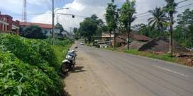 Tanah 1500 meter SHM di Salatiga di kontrakan