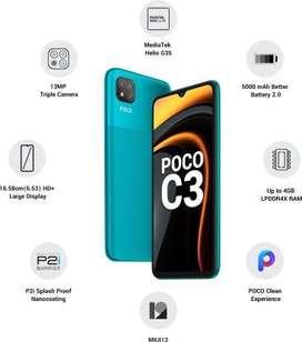 POCO C3 4GB 64 GB