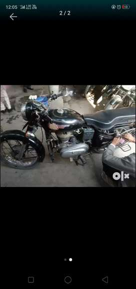Old Bullet With Original Bullet Bike siund