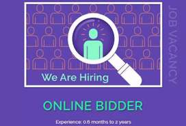 Vacancy for Bidder IT projects