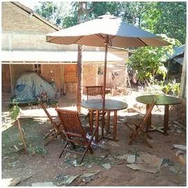 Meja payung outdoor, taman,  pantai, kolam, tempat wisata, kantin,