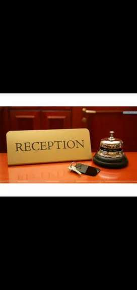 receptionist jobs urgent openings in my home interiors only for girls