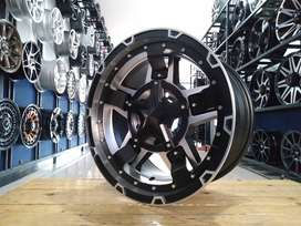 VELG IMPORT HSR RASTA3 RING17X9 PCD6X139,7 FOR PAJERO STRADA FORTUNER