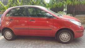 Average tyre, good condition, small scratches, glossy red