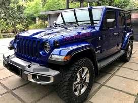Jeep JL Sahara Rubicon wrangler 2.0 2020 Seperti Baru Spesial Color