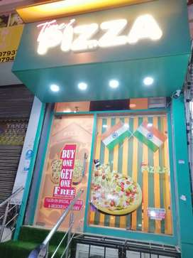 Sale Furnished Pizza Restaurant
