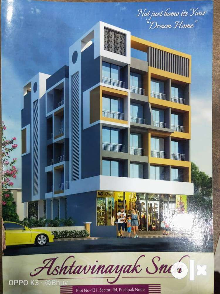 available 1bhk on sale in karnjade panvel