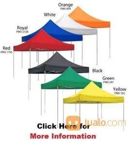 Di jual tenda lipat ukuran 3x3 warna kuning