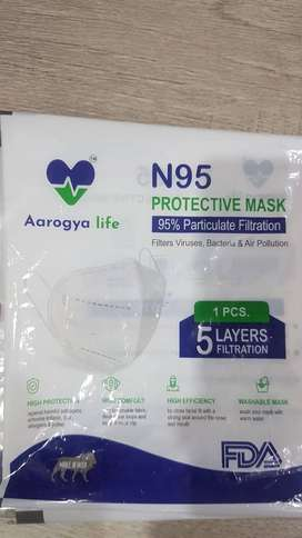 N95 Protective Mask 5 Layer Filteration