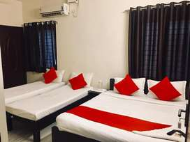 The Serviced apartment converted to PG Hostel
