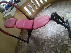 Abs and legs working machine.. Rarely used..