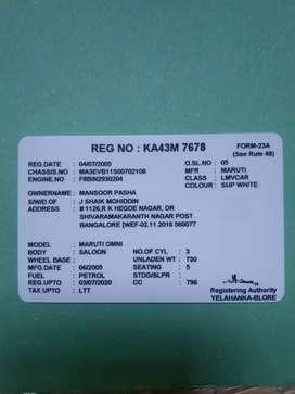 Maruti Suzuki Omni 04072005