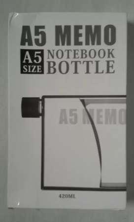 Memo Notebook Bottle Size A5