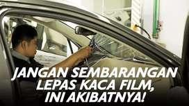 Solusi tepat pasang kaca film mobil anda